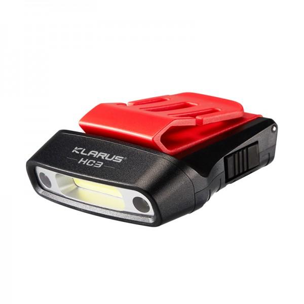 KLARUS Taschenlampe HC3 Cliplampe mit Sensor