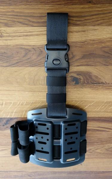 DASTA 975 Taktische Beinplatte für Pistolenholster und Magazintaschen